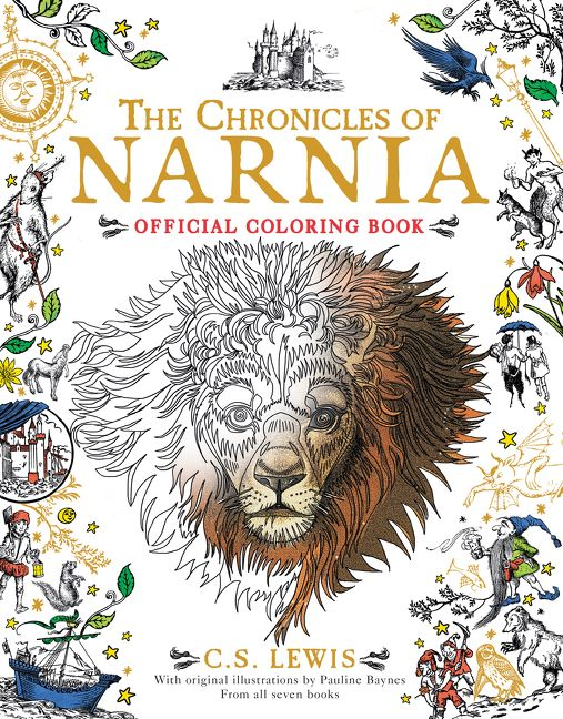 "Vaizdo rezultatas pagal užklausą ""the chronicles of narnia official coloring book"""