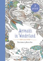 Mermaids in Wonderland 20 Postcards Miscellaneous print  by Marcos Chin
