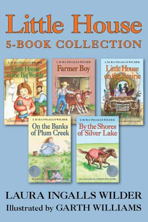 Little House 5-Book Collection book image