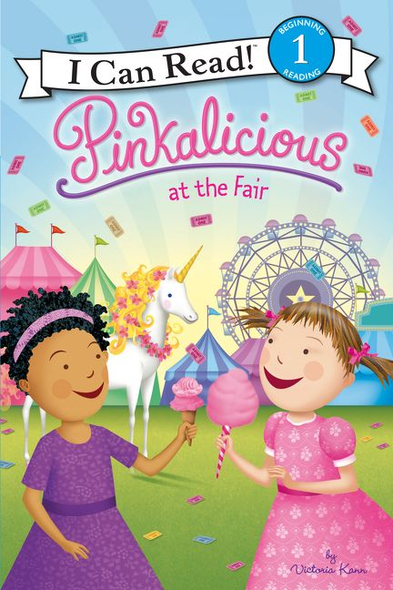 Book Cover Images Fair Use : Pinkalicious at the fair victoria kann hardcover