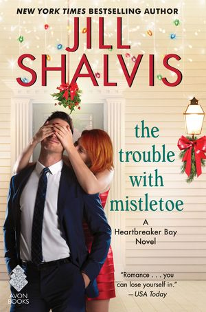 Trouble with Mistletoe book image
