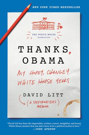 Thanks, Obama book image