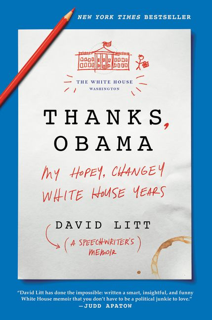 thanks obama david litt hardcover