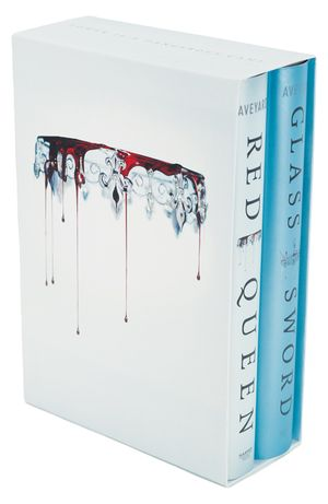 Red Queen 2-Book Hardcover Box Set book image