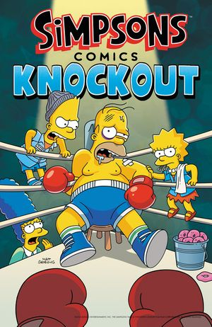 Simpsons Comics Knockout book image