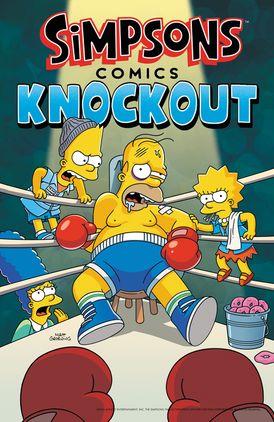 Simpsons Comics Knockout - Matt Groening - Paperback 556766dc0d2a