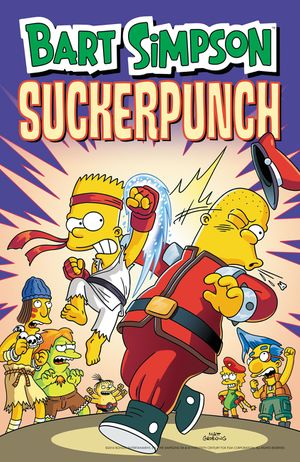 Bart Simpson Suckerpunch book image