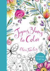 Joyous Blooms to Color: 15 Postcards, 15 Gift Tags