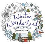 Winter Wonderland to Color Paperback  by Flora Waycott