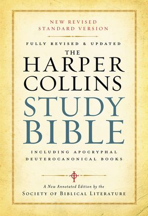 HarperCollins Study Bible book image