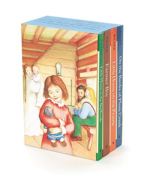 Little House 4-Book Box Set book image