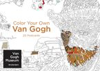 Color Your Own Van Gogh 20 Postcards - Van Gogh Museum Amsterdam