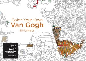 Color Your Own Van Gogh 20 Postcards