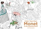 Color Your Own Monet and the Impressionists 20 Postcards Miscellaneous print  by (None)