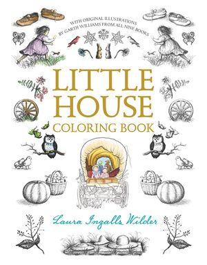 Little House Coloring Book book image
