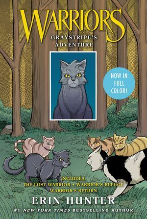 Warriors: Graystripe's Adventure book image