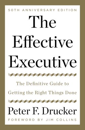 The Effective Executive book image
