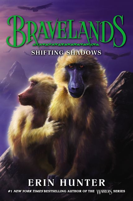 Bravelands 4 Shifting Shadows Erin Hunter Hardcover
