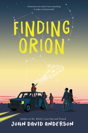 Finding Orion book image