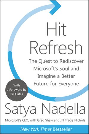 Hit Refresh book image