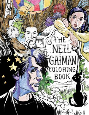 The Neil Gaiman Coloring Book book image