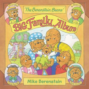 The Berenstain Bears' Big Family Album book image