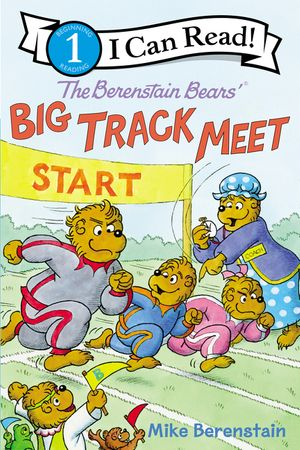The Berenstain Bears' Big Track Meet book image