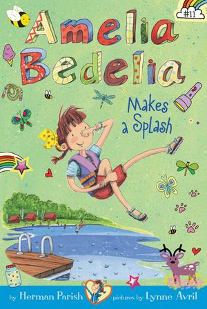 Amelia Bedelia Chapter Book #11: Amelia Bedelia Makes a Splash book image