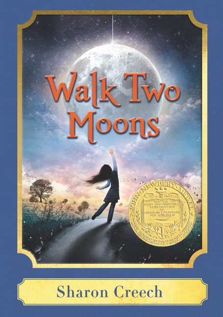 Classic Book Covers For Sale : Walk two moons a harper classic sharon creech hardcover