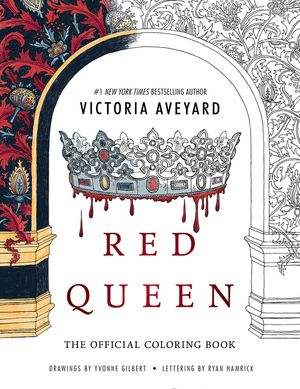 Red Queen: The Official Coloring Book book image