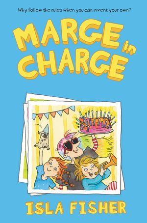 Marge in Charge book image