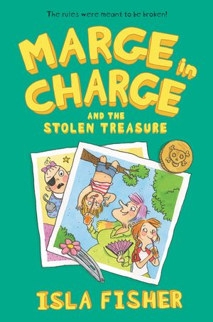 Marge in Charge and the Stolen Treasure book image