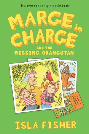 Marge in Charge and the Missing Orangutan book image