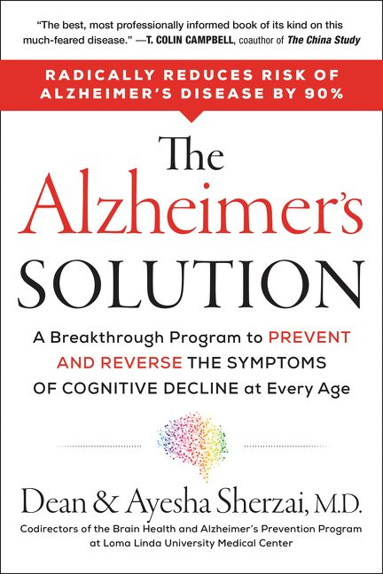 The Alzheimer's Solution book cover