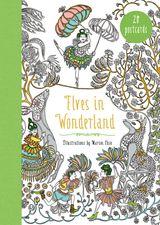 Elves in Wonderland 20 Postcards