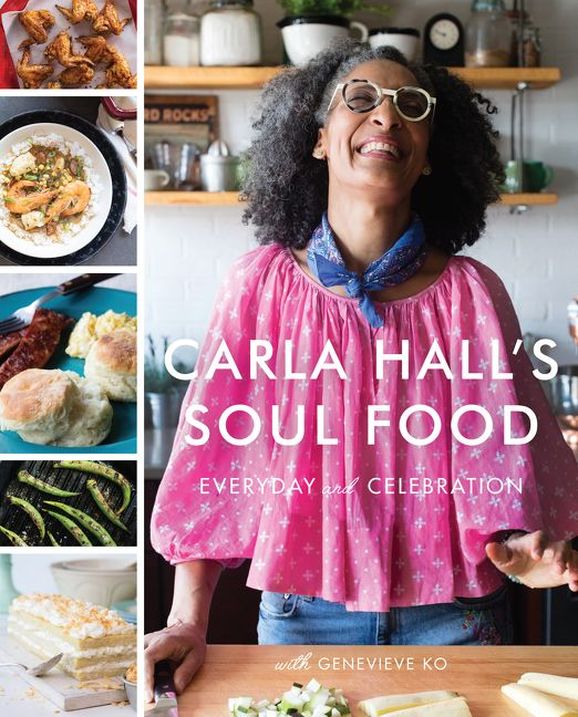 Carla halls soul food carla hall genevieve ko hardcover enlarge book cover forumfinder Choice Image