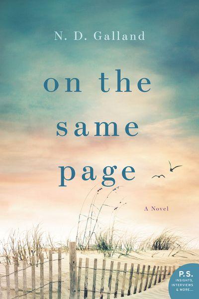 On The Same Page: A Novel