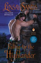 Falling for the Highlander Hardcover  by Lynsay Sands