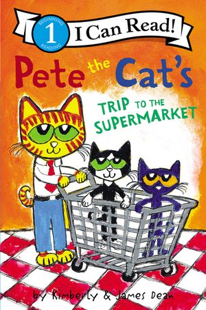 Pete the Cat's Trip to the Supermarket book image