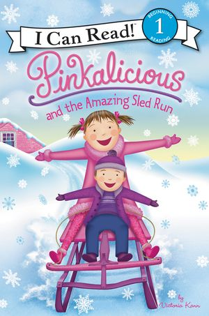 Pinkalicious and the Amazing Sled Run book image