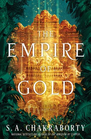 The Empire of Gold book image