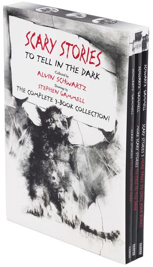Scary Stories Paperback Box Set book image