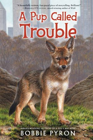 A Pup Called Trouble book image