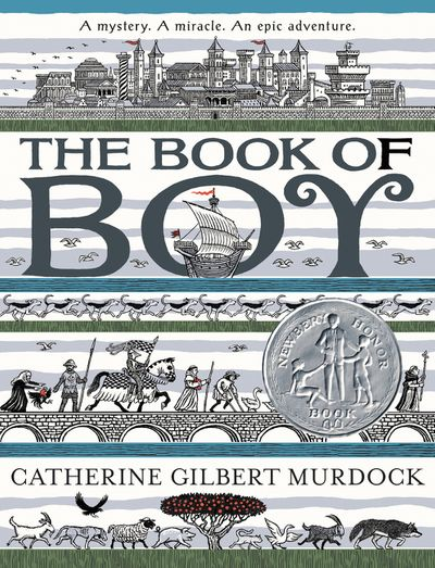 Cover art for the book entitled The Book of Boy