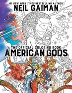 American Gods: The Official Coloring Book Paperback  by Neil Gaiman