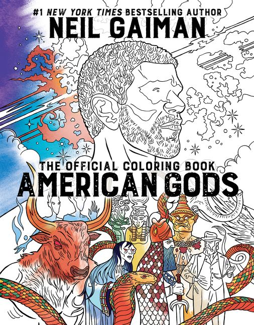 American Gods The Official Coloring Book
