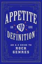 Appetite for Definition Paperback  by Ian King