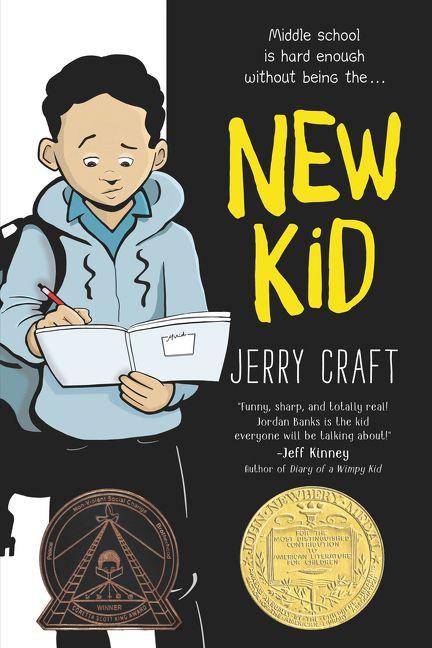 New Kid Jerry Craft Hardcover