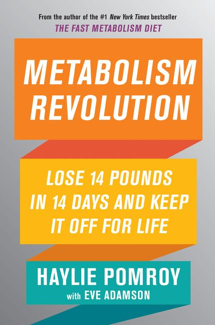 Book cover image: Metabolism Revolution: Lose 14 Pounds in 14 Days and Keep It Off for Life | New York Times Bestseller