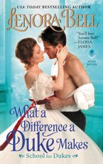 What a Difference a Duke Makes Paperback  by Lenora Bell